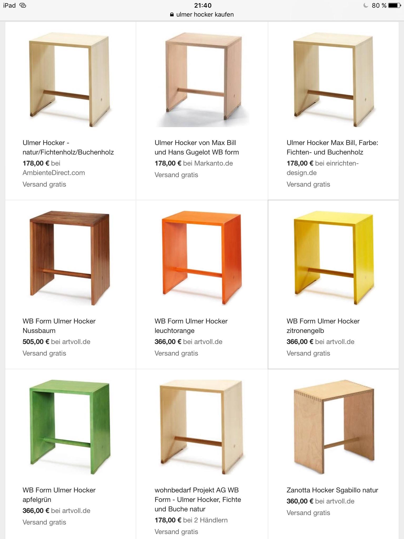 ulmer hocker selber bauen. Black Bedroom Furniture Sets. Home Design Ideas